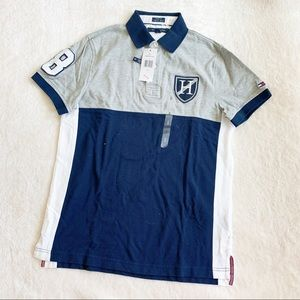 NWT Tommy Hilfiger Color Block Polo Shirt